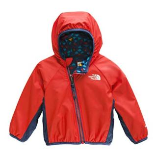 The North Face Infant Reversible Breezeway Jacket, Fiery Red, 3M