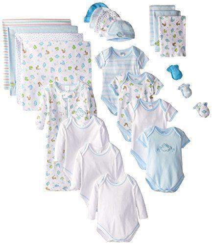 SpaSilk 23-Piece Essential Newborn Baby Layette Set