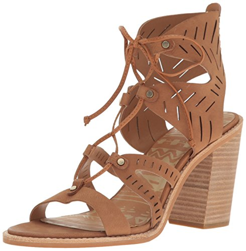 Dolce Vita Women's Luci Heeled Sandal, Saddle Nubuck