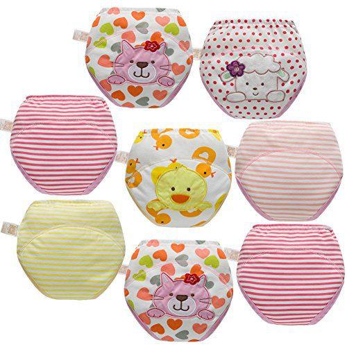 Skhls Baby Toddler 4 Layer Assortment Cotton Training Pants