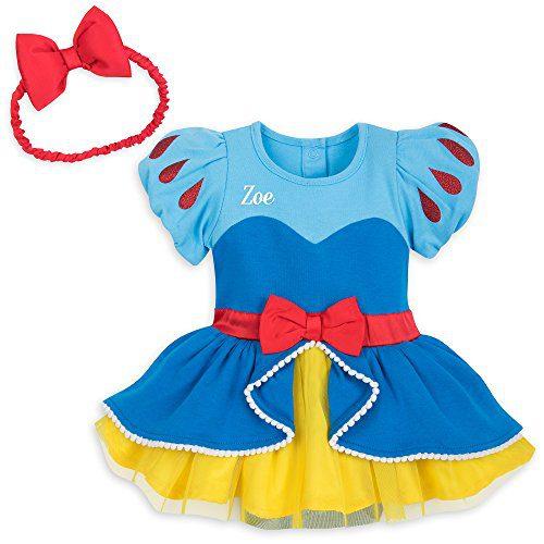 Disney Snow White Bodysuit for Baby Size 0-3 MO Multi