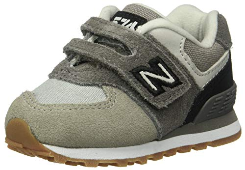 New Balance Boys' Iconic Hook and Loop Sneaker Castle