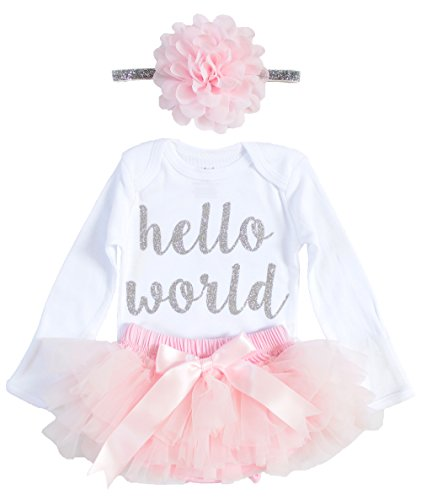 OoSweetCharlotteoO 3pcs Newborn Baby Girl