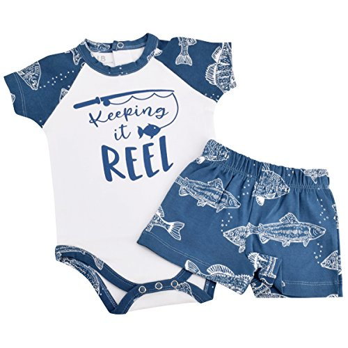 Unique Baby Boys Keeping it Reel with Dad 1st Father's Day