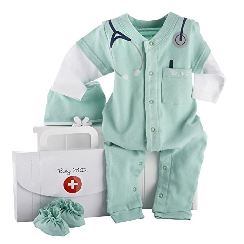 Baby Aspen, Baby M.D. Three-Piece Layette Set