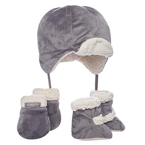 JJ Cole - Bomber Hat Set, Winter Boots, Mittens