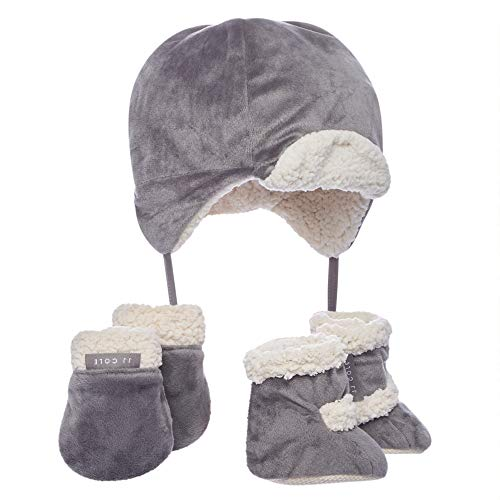 JJ Cole - Bomber Hat Set, Winter Boots, Mittens