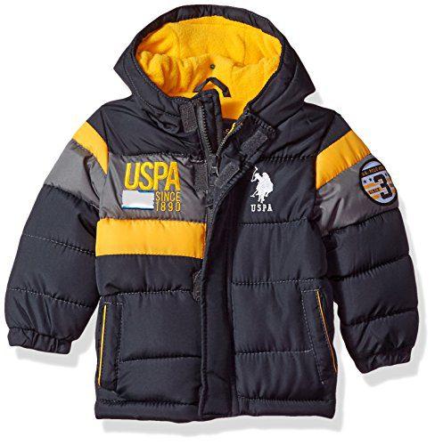 US Polo Association Baby Boys' Outerwear Jacket