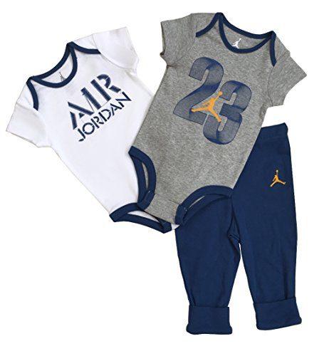Nike Jordan Infant New Born Baby 3 Pcs Layette Set (0/3M)