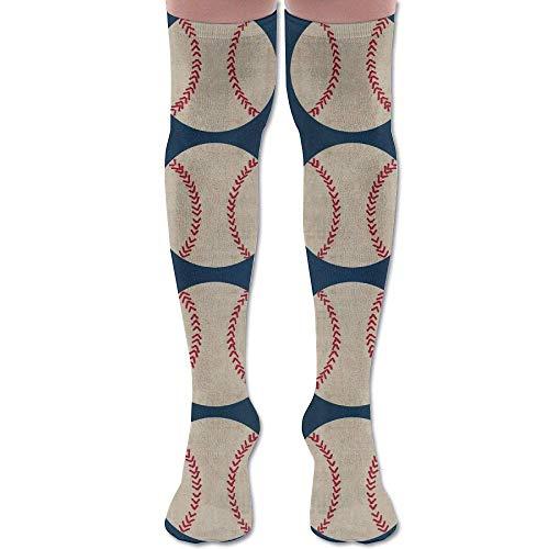 Snabeats Compression Socks, Baseball Vintage Navy