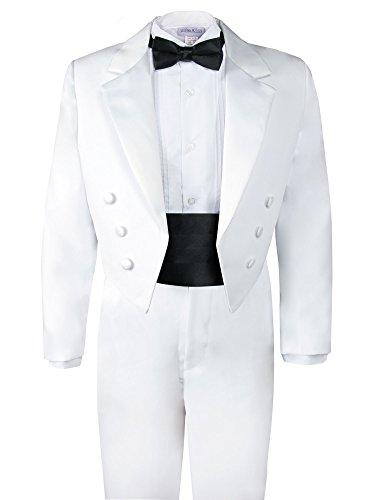 Spring Notion Boys' White Classic Tuxedo