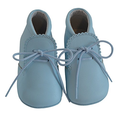 Baby Boys Shoes Leather Soft Sole Shoes w/Laces