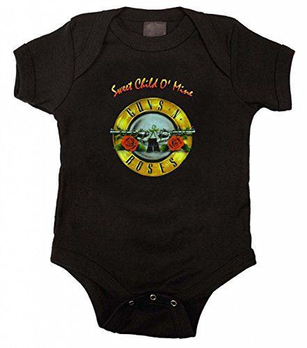 Guns N Roses Sweet Child O Mine Onesie, 24 Months