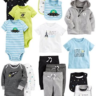 Carter's Baby Boys' 15-Piece Basic Essentials Set