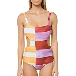 Mara Hoffman Women's Mina Cut-Out One Piece Swimsuit