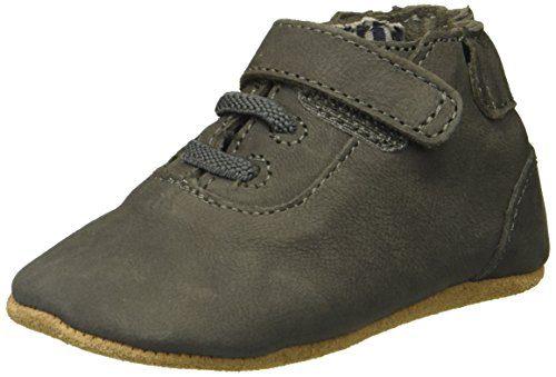 Robeez Boys' George Shoe First Kicks,Grey