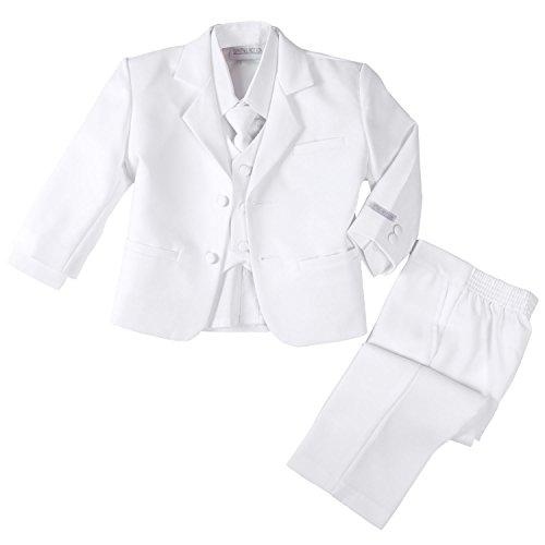 Spring Notion Baby Boys' Formal White Dress Suit Set NB