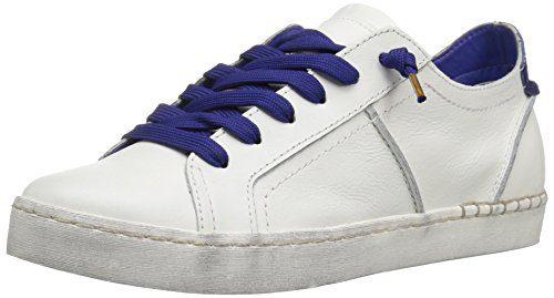 Dolce Vita Women's Zalen Fashion Sneaker White/Blue