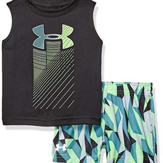 Under Armour Boys' Baby UA Muscle Tank and Short Set