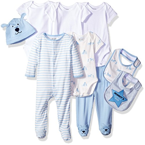 The Children's Place Baby Layette Set, Blue