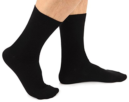 Davido Mens crew Socks made in Italy 100% cotton