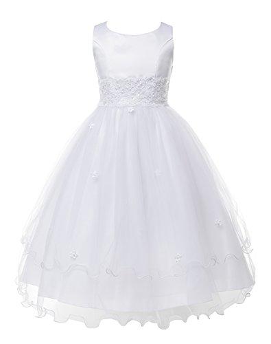 OLIVIA KOO Girls Graceful First Communion Dress