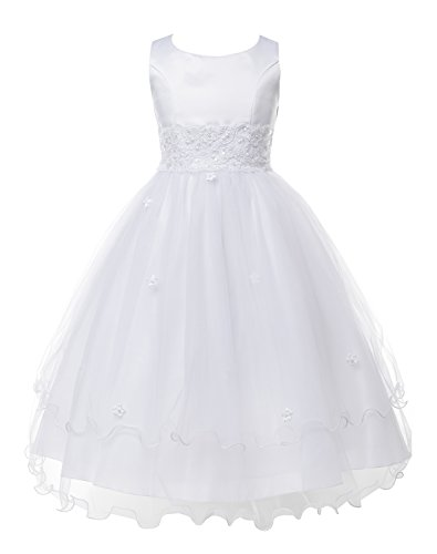 OLIVIA KOO Girls Graceful First Communion Dress