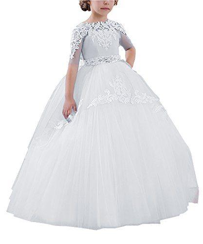 Abaowedding Flower Girls Long First Communion Dresses