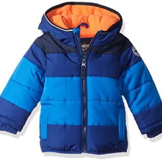 OshKosh B'Gosh Baby Boys Heavyweight Colorblock Puffer Coat