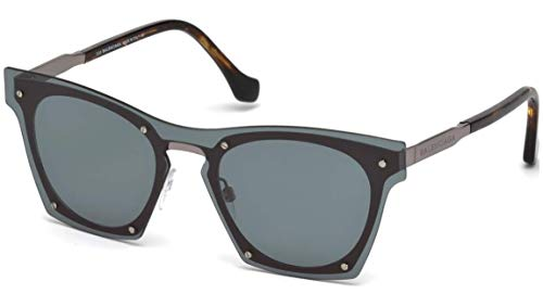 Balenciaga SUNGLASSES shiny dark blue