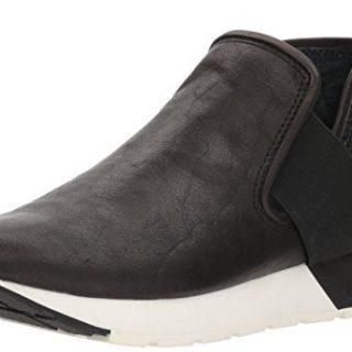 Dolce Vita Women's Sneaker Black Leather
