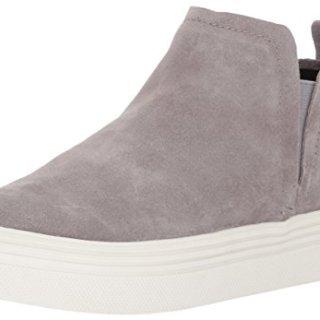 Dolce Vita Women's Tate Sneaker, Smoke Suede