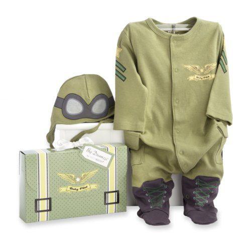 Baby Aspen, Big Dreamzzz Baby Pilot Two-Piece Layette Set