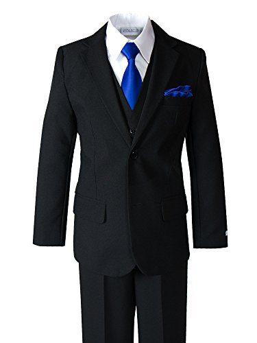Spring Notion Little Boys' Modern Fit Dress Suit Set