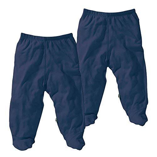 Babysoy Modern Organic Footie Pants 2 Pack