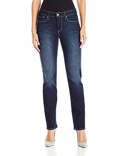Signature by Levi Strauss & Co Women's Totally Shaping Slim Straight Jeans
