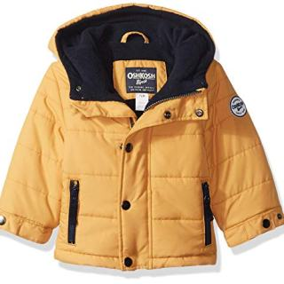 Osh Kosh Baby Boys Little Man Puffer Jacket
