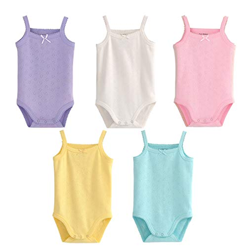 Infant/Toddler Baby Girls Boys Sleeveless Onesies Tank Top
