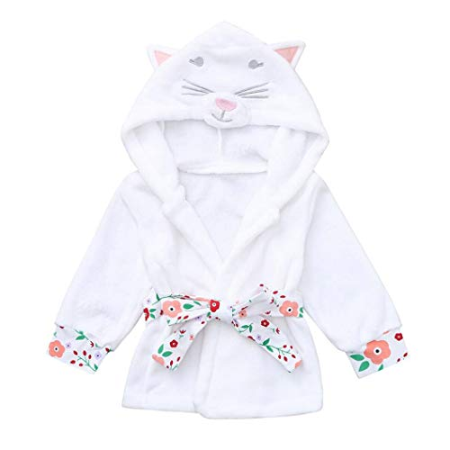 Long Sleeve Baby Bathrobe for Newborn Babies Toddler Baby Boys