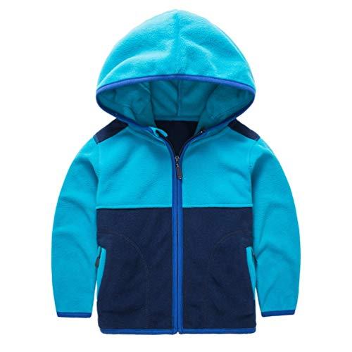 Toddler Baby Boys Fleece Warm Hoodie Child Lightweight