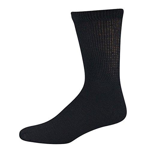 Davido Mens diabetic Socks crew made in Italy