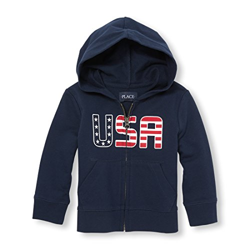 The Children's Place Baby Boys Active Hoody, Tidal