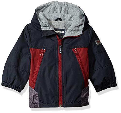 Osh Kosh Baby Boys Midweight Jacket, Navy 24M