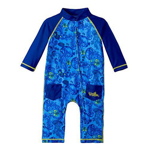 Sun Protective Coolibar UPF 50 Baby Wave Rash Guard