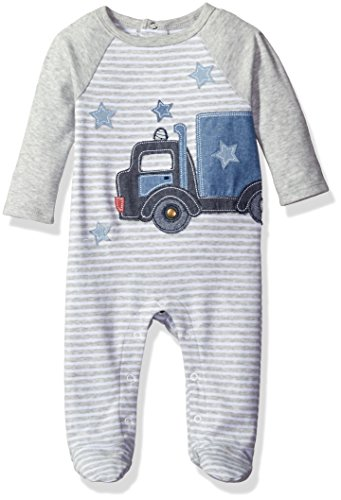 Mud Pie Baby Boys' Footed Sleeper One Piece