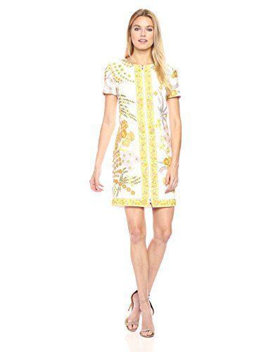 Trina Turk Women's Arboretum Crescent Drive Print Shift Dress