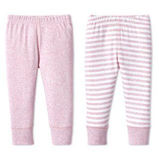Lamaze Organic Baby Baby Girl Organic Essentials 2 Pack Pants