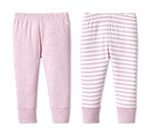 Lamaze Organic Baby Baby Girl Organic Essentials 2 Pack Pants