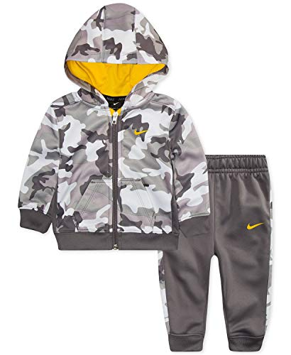 NIKE Baby Boys' Therma Dri-Fit 2-Piece Tracksuit Pants Set