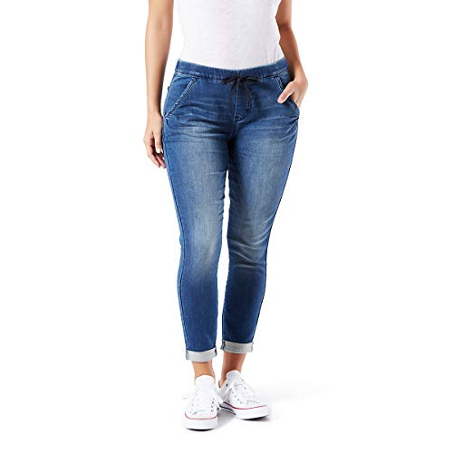 Signature by Levi Strauss & Co Women's Mid-Rise Cropped Lounge Jogger